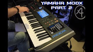 Yamaha MODX part. 2