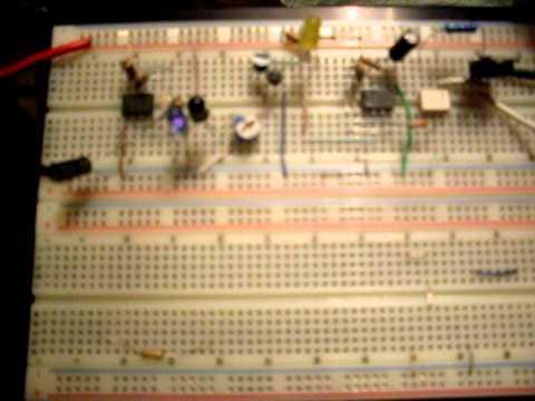 Circuito detector de proximidad por infrarojo Alex...