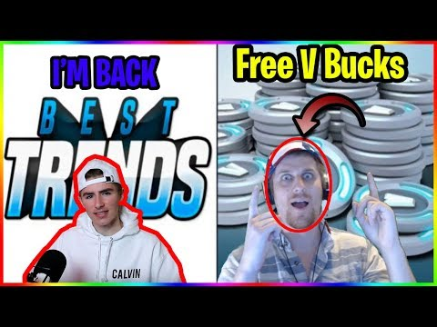 Best Trends Is Back (Free V Bucks Giveaway)