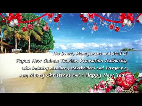 Merry Christmas from Papua New Guinea Tourism Promotion Authority