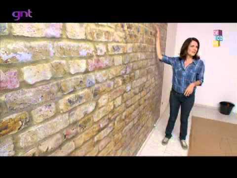 Papel de parede solu o r pida para decorar cazabella - Papel para decorar paredes ...