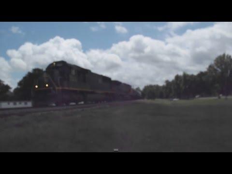 Illinois Central 1027 Draining the Tanks through Glendora!