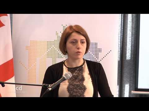 Eka Tkeshelashvili, Former Vice Prime-Minister,State Minister of Georgia for Reintegration;