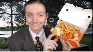 Popeyes NEW Hot Honey Chicken Review!