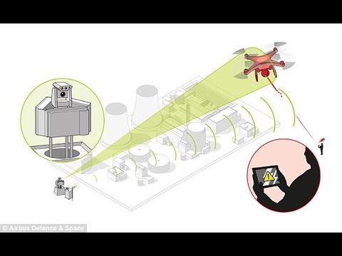 Airbus reveals 'drone killer' - Brining down UAV