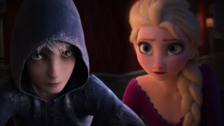 Elsa and Jack Frost -  Into The Unknown ( Duet ) Edit