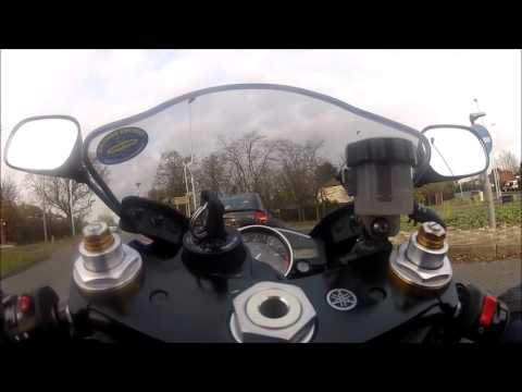 Yamaha r6 Riding to South oxhey