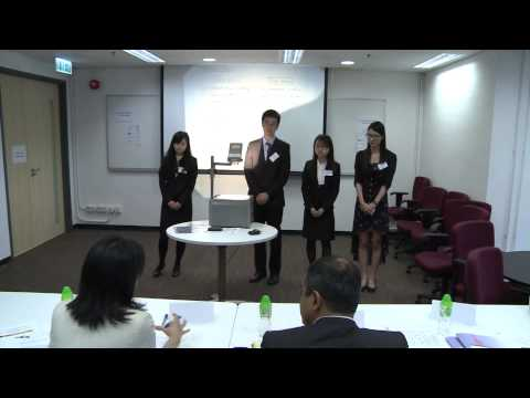 HSBC Asia Pacific Business Case Competition 2014   Round 1 F1   Fudan University