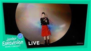 Tamar Edilashvili - Your Voice - LIVE - Georgia 🇬🇪 - Junior Eurovision 2018