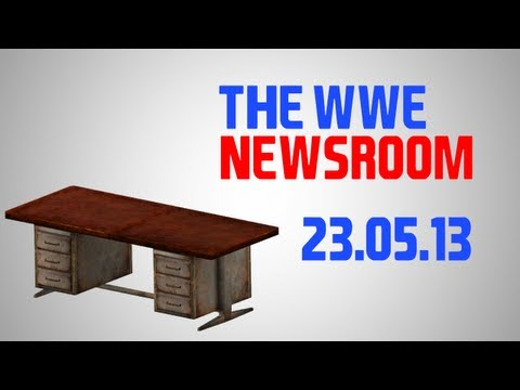 The WWE Newsroom || 23.5.13 || Wrestlemania 31/32 in Detroit!? + MORE!