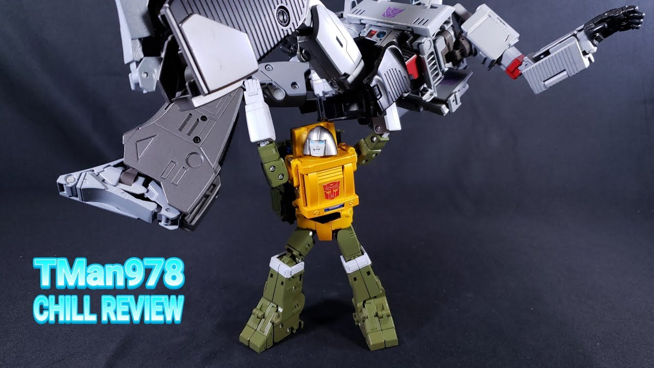 Fans Toys FT-42 Hunk 3rd Party Brawn CHILL REVIEW & Transformation Video By TMan978