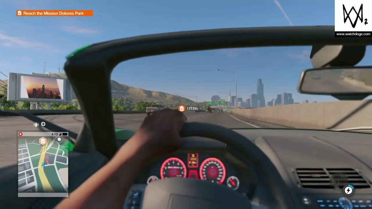 Watch Dogs How To Drive In First Person