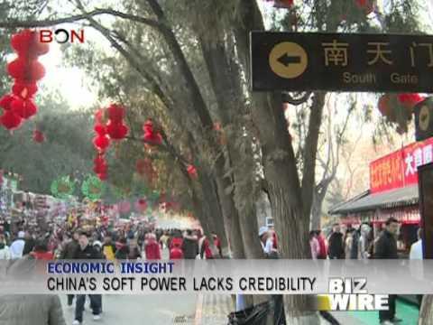 China's soft power lacks credibility - Biz Wire - April 15, 2013 - BONTV China