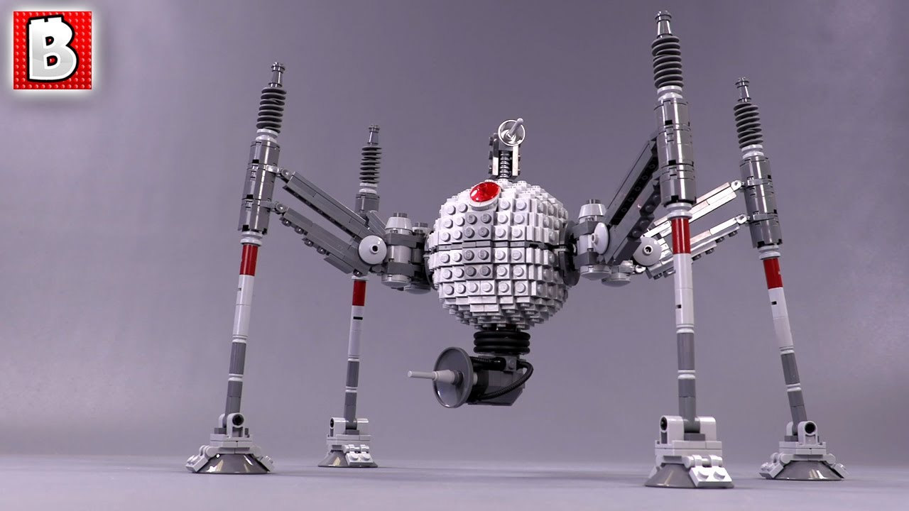 Homing Spider Droid in Minifigure Scale!