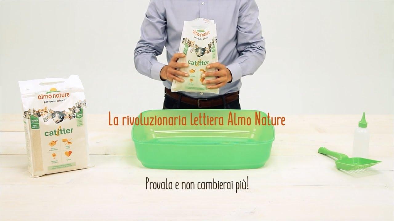 Catlitter La Rivoluzionaria Lettiera Almo Nature Youtube