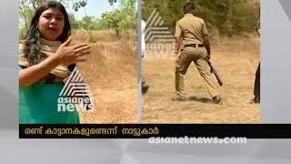 Wild elephant attack in Palakkad Kottayi | പാലക്കാട് ജനവാസ കേന്ദ്രത്തില് ആനയിറങ്ങി