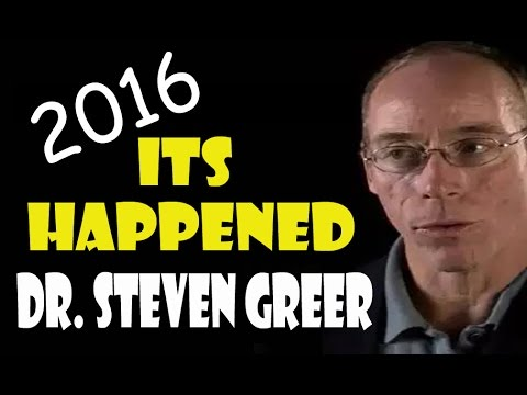 "Dr Steven Greer 2016 ""It's Happened"""