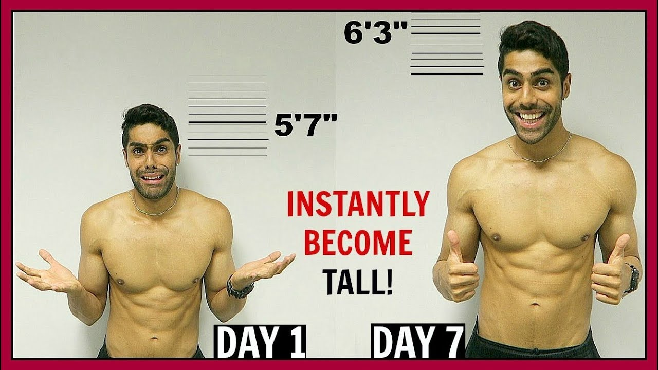 how to grow taller in a week yahoo