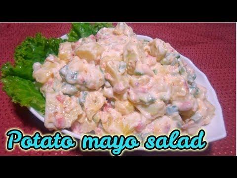 Potato mayo salad_How to make potato mayo salad quick and simple recipe