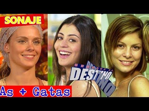7 Atrizes mais gatas da novela SENHORA DO DESTINO