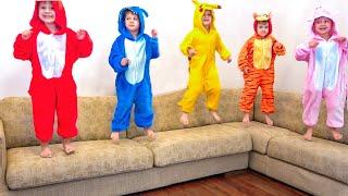 Five Little Monkeys + More Nursery Rhymes & Kids Songs | Diana Roma Show