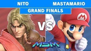 MSM 214 - POW | MastaMario (Mario) Vs. Nito (Ken) Grand Finals - Smash Ultimate
