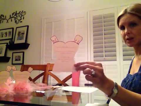 How To Make Tutu Ballerina Party Invitations No Glue No Sewing