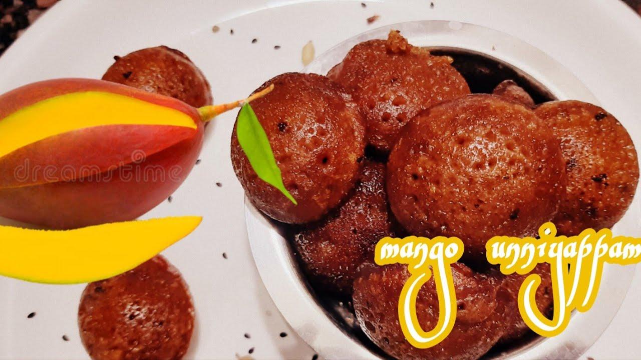 Easy ആയി ആർക്കും ഉണ്ടാക്കാം ടേസ്റ്റി Unniyappam    Mango Unniyappam    Foodies Recipes