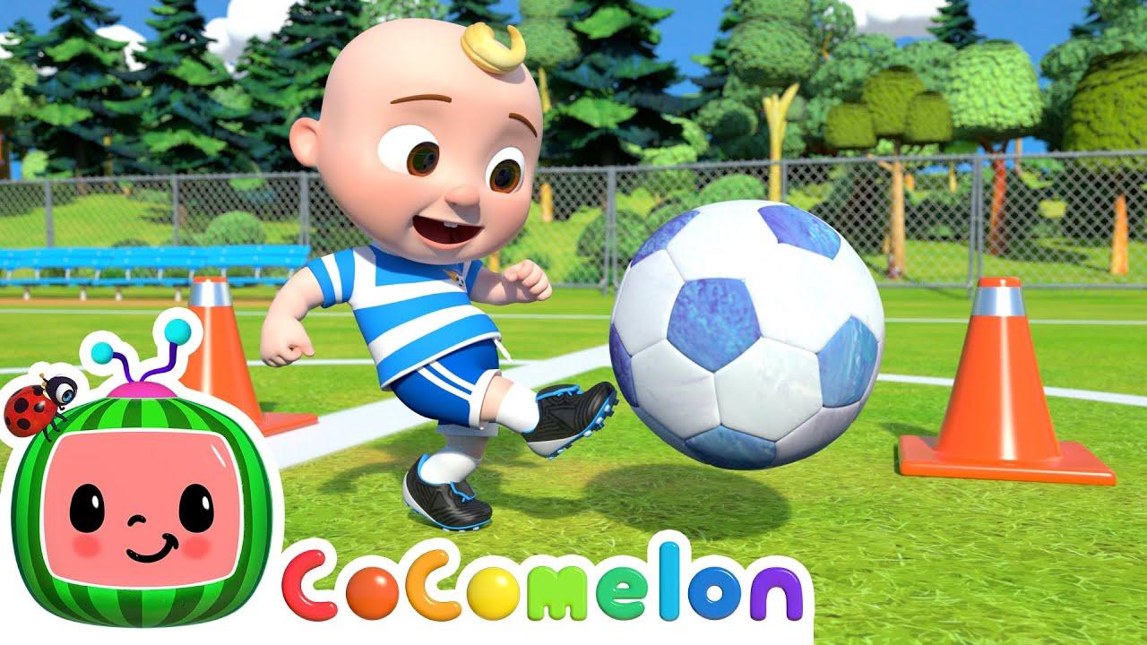 Soccer Song (Football Song)   CoComelon Nursery Rhymes \u0026 Kids Songs