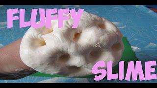 сАМЫЙ ПУШИСТЫЙ СЛАЙМ КАК СДЕЛАТЬ Fluffy slime Флаффи слайм лизун из пены для бритья и тетрабората