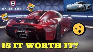 Koenigsegg Regera Better Than Bugatti Chiron? - Asphalt 9 Commentary