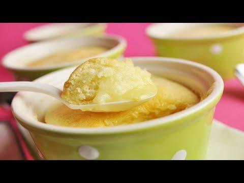 Lemon Sponge Pudding Recipe Demonstration