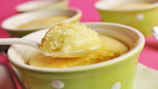 Lemon Sponge Pudding Recipe Demonstration - Joyofbaking.com