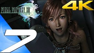 Final Fantasy XIII - Walkthrough Part 7 - The Vile Peaks [4K 60FPS]