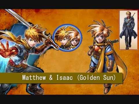 Smash Bros Fighter Ballot Idea: Matthew & Isaac (Golden ...  Smash Bros Figh...