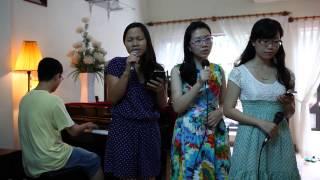 Yêu xa  (Acoustic cover) - Tide Nguyen ft. Thuy Nguyen ft. Dung Nguyen