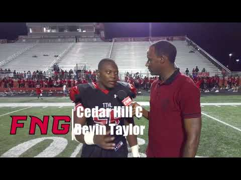 Post Game Interviews with Cedar Hill after the Longhorns 45-0 Win over Grand Prairie