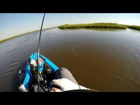 Sabine Pass Kayak Fishing