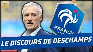 Au coeur des Bleus : le discours de Deschamps avant le match d'ouverture