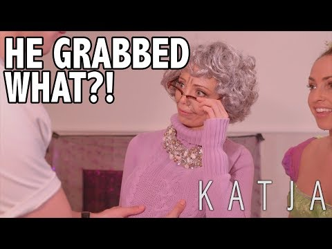 HE GRABBED GERTY'S BOOBIES! | KATJA COMEDY SKETCHES