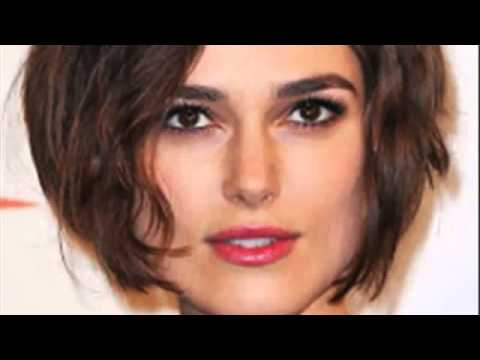 short hairstyles women over 50 square face - YouTube