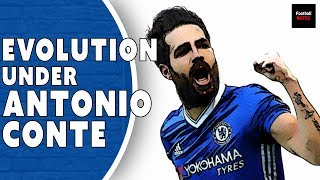 How Cesc Fabregas Evolved at Chelsea Under Antonio Conte | Player Focus