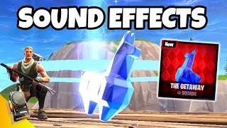 ALL Fortnite The Getaway SOUND EFFECTS