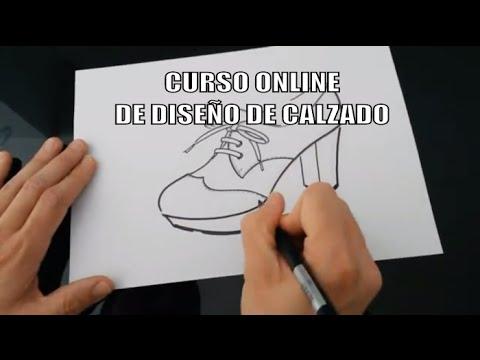 7c7de2e08 CURSO ONLINE DE DISEÑO DE CALZADO - YouTube