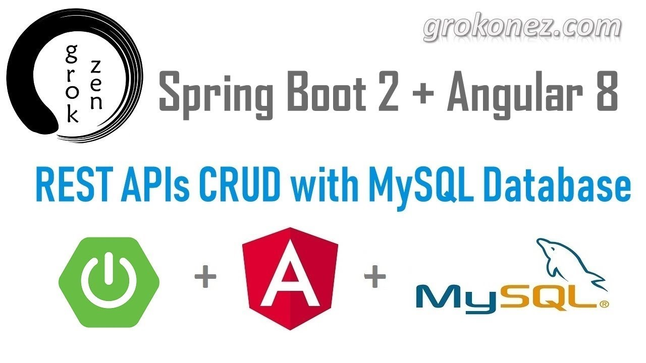 Spring Boot Angular 8 example - RestAPIs CRUD with Angular HTTP Client