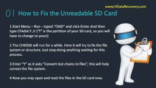 Data Recovery Software How to Recover Deleted Files from SD Card