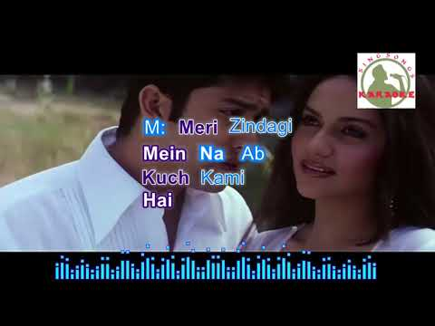 woh ho tumm hindi karaoke for Male singers with lyrics (ORIGINAL TRACK)