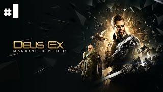 Episode 1 de Deus Ex Mankind Divided  Notre Adam Jensen reprend du service dans ce nouvel pisode En route pour trouver les illuminati dans un monde