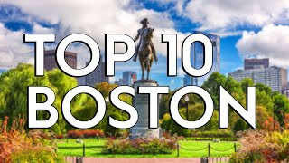 ✅ TOP 10: Things To Do In Boston