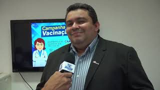 Dr. Gladson Ramon, Secretário Geral da CAACE destaca as ações para disponibilização das doses de vac